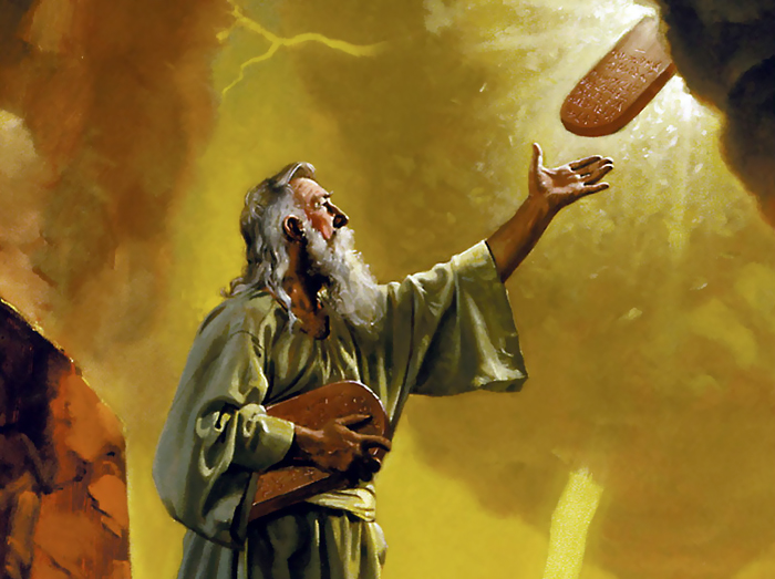 _commandments handed to moses